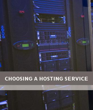 Choosing the right web hosting provider