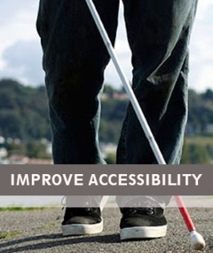 Accessibility. Blind & Partially Sighted Friendly Websites.
